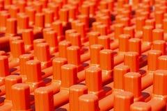 Oranje plank Royalty-vrije Stock Foto