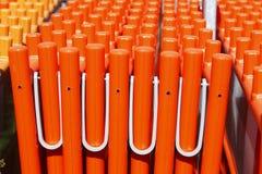 Oranje plank Stock Afbeelding