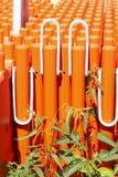 Oranje plank Stock Afbeeldingen