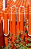 Oranje plank Royalty-vrije Stock Fotografie