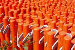 Oranje plank Stock Foto's
