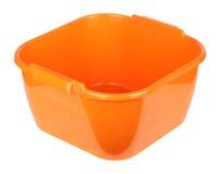 Oranje bassin royalty-vrije stock afbeeldingen