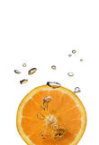 Oranje plons stock afbeelding