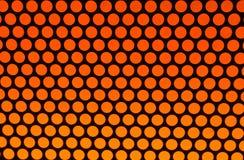 Oranje punten op zwarte Stock Afbeeldingen