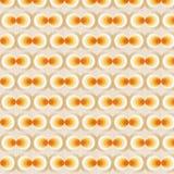 Oranje Retro Behang Stock Foto's
