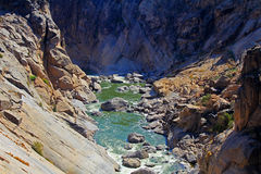 Oranje river canyon Royalty Free Stock Photography