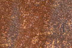 Oranje roesttextuur of achtergrond royalty-vrije stock afbeelding