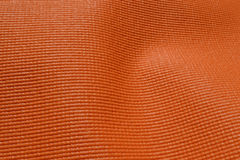 Oranje rubbermat Stock Afbeelding