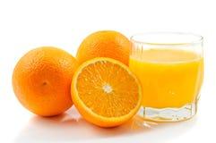 Oranje Saft Stockfoto