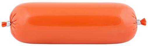 Oranje salami Royalty-vrije Stock Afbeelding