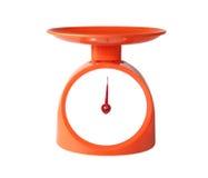 Oranje saldo Royalty-vrije Stock Fotografie