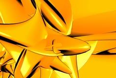Oranje samenvatting royalty-vrije illustratie