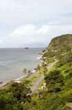 Oranje Schacht Oranjestad Strand Str. Eustatlius Lizenzfreie Stockfotografie