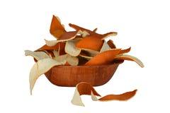 Oranje schil royalty-vrije stock fotografie