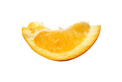 Oranje sectie royalty-vrije stock fotografie
