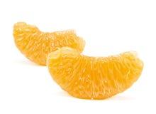Oranje segment Stock Fotografie