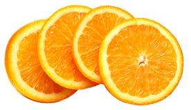 Oranje segment Stock Afbeelding