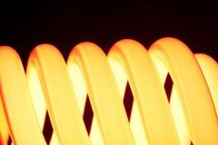 Oranje spiraal Stock Afbeelding