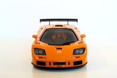 Oranje Sportwagen Royalty-vrije Stock Afbeelding