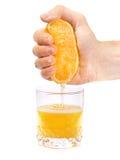 Oranje stemming Stock Foto's