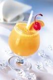 Oranje stempel Royalty-vrije Stock Fotografie
