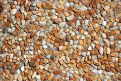 Oranje stenen Stock Fotografie