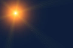 Oranje ster stock illustratie
