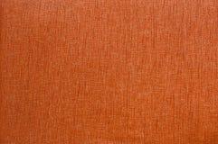 Oranje stoffentextuur. Stock Afbeeldingen