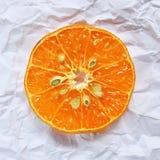 Oranje Stuk Stock Foto's