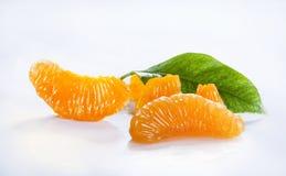Oranje stukken Royalty-vrije Stock Afbeelding