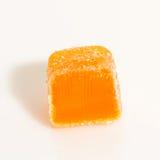 Oranje suikergoed één Stock Foto's
