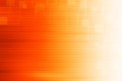 Oranje technologie abstracte achtergrond Stock Afbeeldingen
