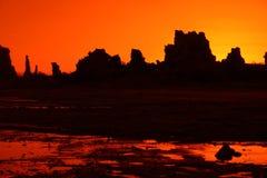 Oranje Tufa Royalty-vrije Stock Afbeelding