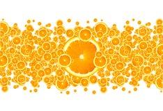 Oranje Uitbarsting Royalty-vrije Stock Afbeeldingen