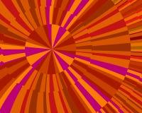 Oranje Uitbarsting Stock Illustratie
