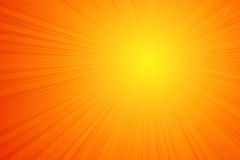 Oranje Uitbarsting Royalty-vrije Stock Foto's
