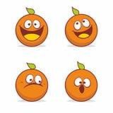 Oranje vector Royalty-vrije Stock Afbeelding