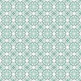 Oranje vector naadloze abstracte bloemenachtergrond voor decoratie, blauwe zachte kleur Stock Foto's