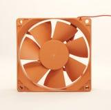 Oranje ventilator Royalty-vrije Stock Afbeeldingen