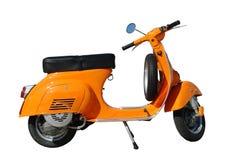 Oranje Vespa Royalty-vrije Stock Afbeelding