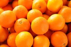 Oranje vruchten Stock Afbeeldingen