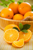 Oranje vruchten Stock Afbeelding