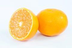 Oranje w-het knippen weg Royalty-vrije Stock Foto