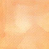 Oranje waterverf op papieren zakdoekjepatroon royalty-vrije stock fotografie