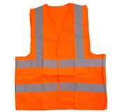 Oranje Weerspiegelend Vest II stock fotografie