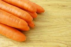 Oranje wortelgroente met carotine royalty-vrije stock afbeelding