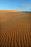 Oranje zacht woestijnzand Royalty-vrije Stock Afbeelding