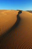 Oranje zacht woestijnzand Royalty-vrije Stock Foto