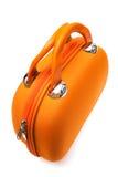 Oranje zak Stock Foto