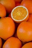 Oranje zoete smakelijk Royalty-vrije Stock Afbeeldingen